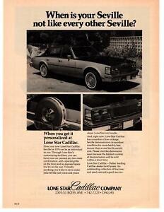1976 Lone Star Cadillac Seville Dealership Ross Ave Dallas ...