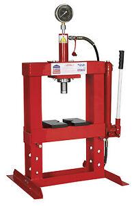 New Sealey Workshop Garage Yk10b Hydraulic Press 10 Ton