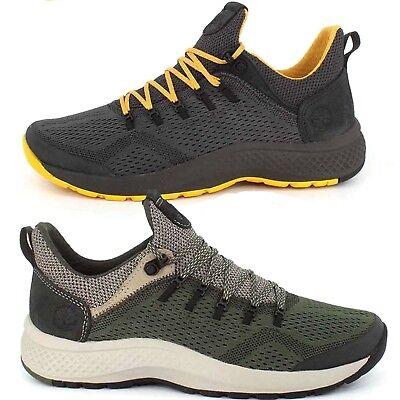 Timberland Men's aerocore flyroam Trail Mixed Media Randonneur Baskets Chaussures | eBay