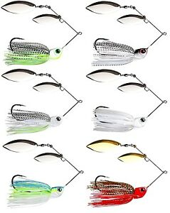 WARBAITS-1-oz-HD-SPINNERBAIT-SALTWATER-CALICO-BASS-MUSKY-STRIPER-SELECT-COLOR