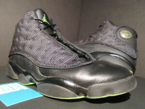 huge discount 69fb1 f63f6 Image is loading 2010-NIKE-AIR-JORDAN-XIII-13-RETRO-BLACK-