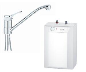 Untertischgeraet-Untertisch-Boiler-10-Liter-Warmwasserspeicher-Armatur-Gorenje