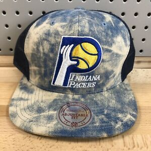 Indiana Pacers NBA Basketball Mitchell & Ness Hardwood Classics Trucker Hat Cap