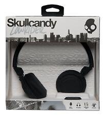 SKULLCANDY Lowrider DJ Style Over Ear Headphones + Mic + Volume Control - BLACK