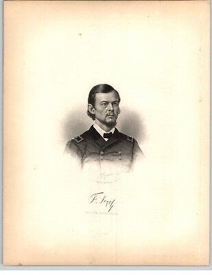 1861 Historical Steel Engravings 9 Pg Bio Franz Sigel Major General Zinsheim