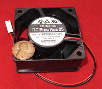 Sanyo Denki Brushless Cooling Fan - 60mm - 12v Dc - 15.5 Cfm - 25db Pico Ace 25
