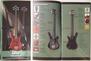Rockbass by Warwick Bass Guitare catalogue brochure prospectus