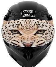 V13 Cheetah Leopard VISOR TINT DECAL Helmet UNIVERSAL Fits All Sport Bike Helmet