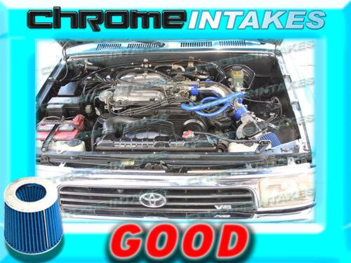BLUE NEW COLD AIR INTAKE KIT FOR 88-95 TOYOTA PICKUP//4RUNNER 3.0 3.0L V6