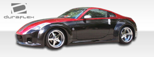 03-08 Fits Nissan 350Z Duraflex B-2 Wide Body Rear Fender Flares 2pc 103350