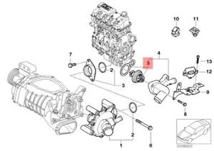 Genuine Engine Thermostat With Gasket MINI Cooper One R50 R52 R53  11537596787 | eBayeBay