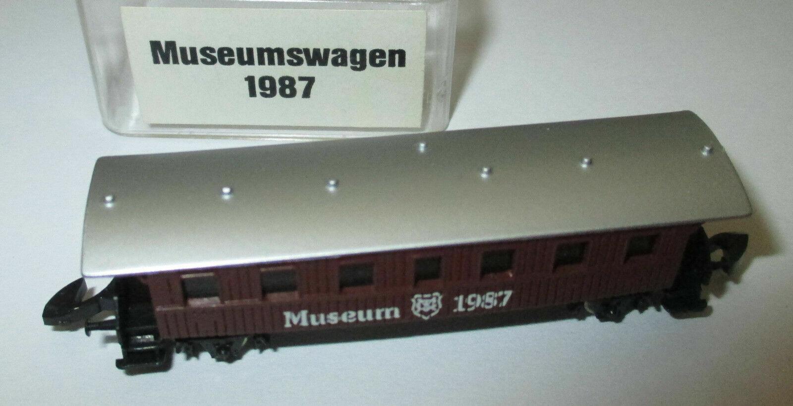 Märklin Z Museum Vehicle 1987 Passenger Car Würtembergische Länder Railway