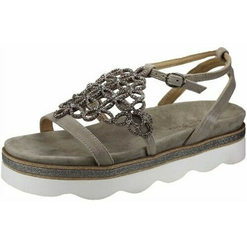 Alma en pena damen sandalen taupe gr 37 neu