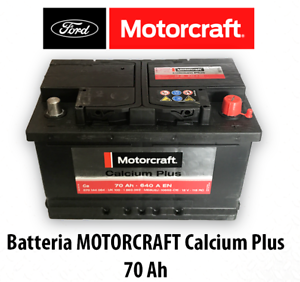batteria auto originale ford motorcraft 12v 70ah 640a focus fiesta c max mondeo ebay. Black Bedroom Furniture Sets. Home Design Ideas