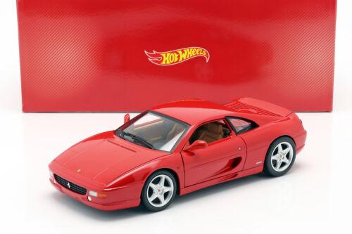 Ferrari f355 Berlinetta año de fabricación 1994 rojo 1:18 hotwheels