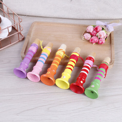 Baby wooden flute whistle toys educational toys kids musical instrumentS!