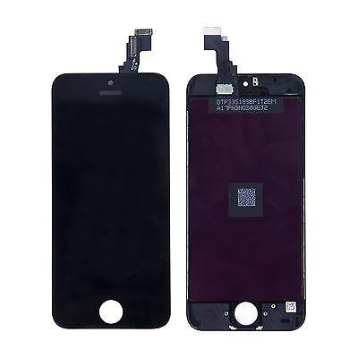 VITRE TACTILE+ECRAN LCD RETINA ASSEMBLE SUR CHASSIS IPHONE 5S BLANC / NOIR+OUTIL