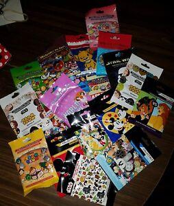 Disney Pins AUTHENTIC Random Mystery Packs 50 pins 10 PACKS SEALED
