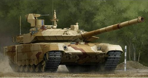 Trumpeter 1 35 Soviet T-90MS MBT