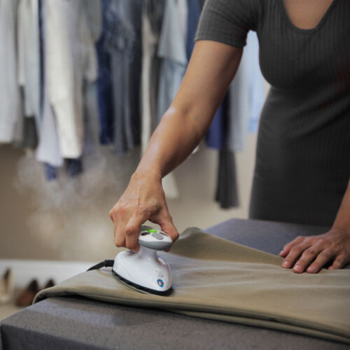 Clothes Iron Mini Steamer Iron Travel Garment Wrinkle Eliminator Shirt Pant