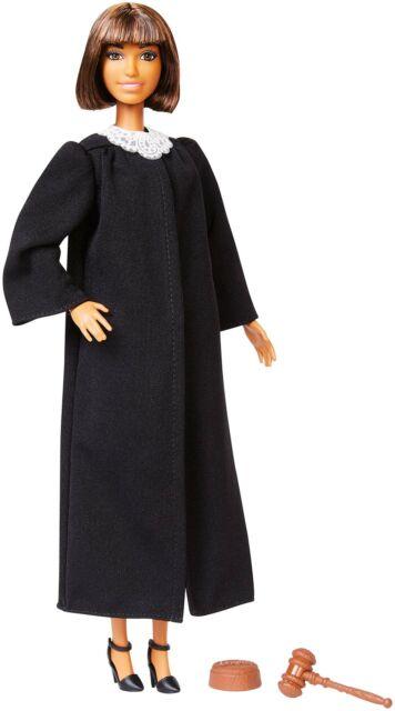 Dark Brown Hair Barbie Career of The Year Judge Doll