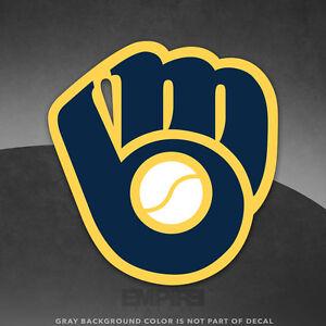 Milwaukee Brewers Logo Vinyl Decal Sticker MLB And Larger - Custom vinyl decals milwaukee