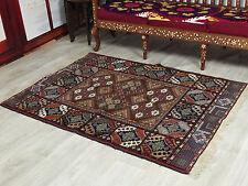 161x119 cm super-feine Qualität Seiden Afghan orientteppich Silk Carpet ZaBi -46