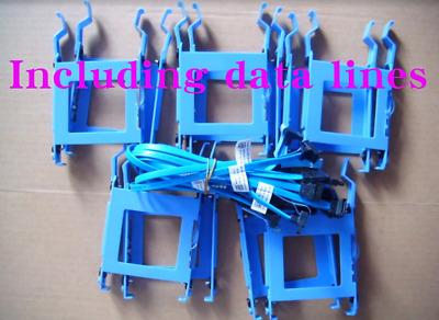 6 sets Dell 3040 5040 7040 3046 MT 3650 3655 Bay Caddy HDD 2.5 SSD Bracket X9FV3