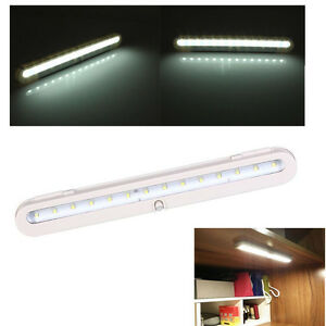 14 LED Bright Battery Operated Cabinet Light PIR Motion