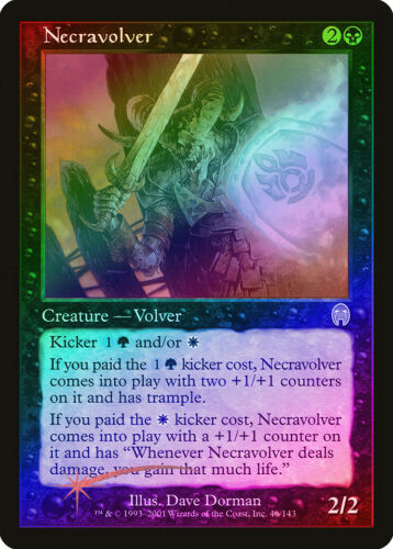 Necravolver FOIL Apocalypse NM Black Rare MAGIC THE GATHERING CARD ABUGames