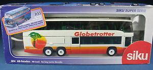 Siku-3814-MERCEDES-AUTOCAR-O-404-DD-trotters-NEUF-dans-emballage-d-039-origine-1-55-bus