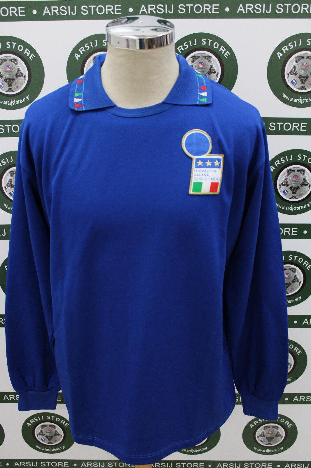 caf4f198df89ac calcio shirt maillot trikot camiseta MATCH WORN Maglia ITALIA noiaoi3968- Calcio
