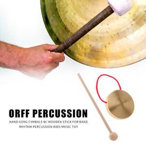 7 Zoll Gong Tamburin Becken Percussion Musikinstrumente Für Kinder Spielzeug
