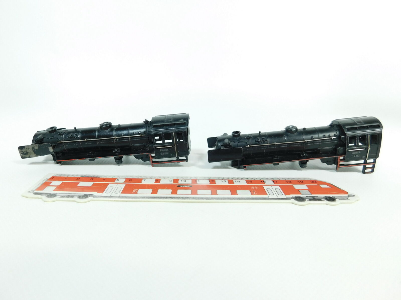 BC846-0,5 x Märklin H0 AC Housing for 3005 Steam Locomotive da 800 23 014