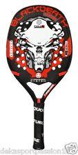 Racchetta Beach Tennis TURQUOISE Black Death PWR 7 - cm 50