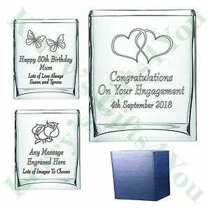 personalised engraved vase mother of the bride groom gift present