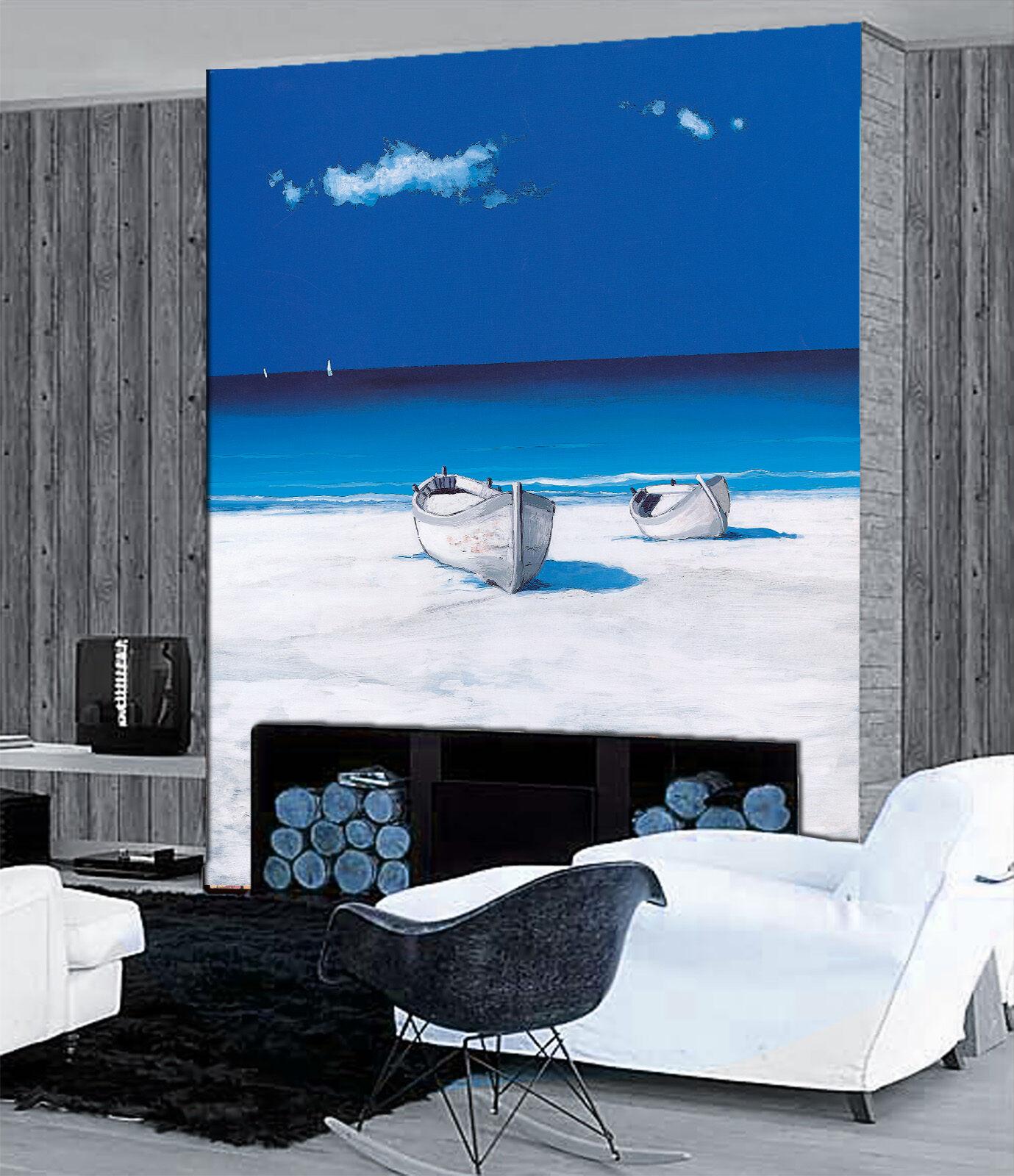 3D Weiße Sandstrände Stiefel Fototapeten Wandbild Fototapete BildTapete Familie DE