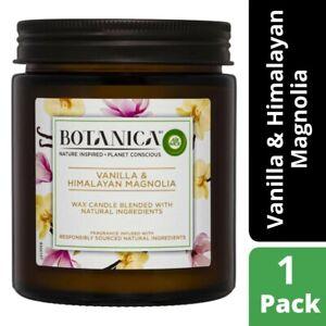 Botanica Vanilla & Himalayan Magnolia Candle 1 each