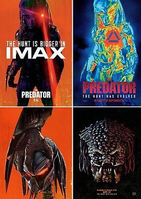The Predator 2018 Movie Posters A0-A1-A2-A3-A4-A5-A6-MAXI C237