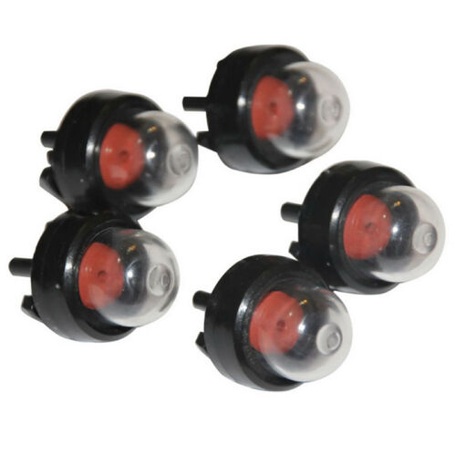 5Pcs Snap in Primer Fuel Bulb Pump Bulb For Stihl Ryobi WALBRO Trimmer 3200 3210