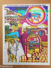 LED ZEPPLIN-LED ZEPPELIN POSTER-JETHRO TULL-Concert Poster--Fillmore-Bill Graham