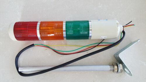 5pcs Tower Signal Safety Stack Alarm R//G//Y 120V Light Bulb