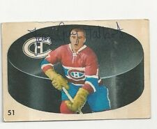 Jean Guy Talbot Montreal Canadiens Autographed 62/63 Parkhurst Hockey Card
