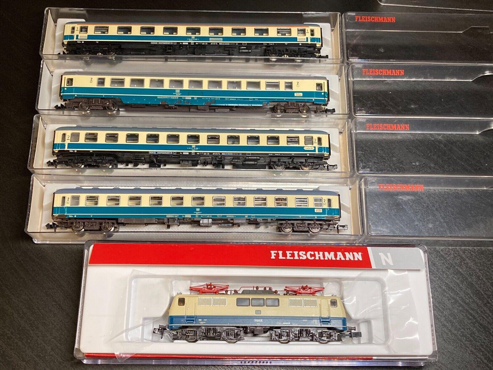 Lokaufriss VBT 48 DB 614 DBAG 614 Dreiteiliger Dieseltriebzug 1971