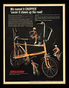 Raleigh Chopper Mk1 Sales Advert 1969 Ebay