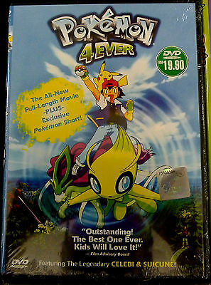 Pokemon 4ever Movie 4 Celebi Voice Of The Forest All Region English Ver 9555186394760 Ebay