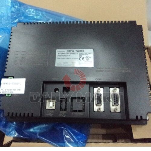 """TOUCH SCREEN PANEL FREE SHIP OMRON NEW NB7W-TW00B HMI 7/"""" COLOR TFT LCD 24VDC"""
