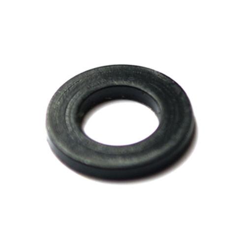 Black Plastic Nylon Flat Washers Insulation M2 M2.5 M3 M4 M5 M6 M8 M10 M12