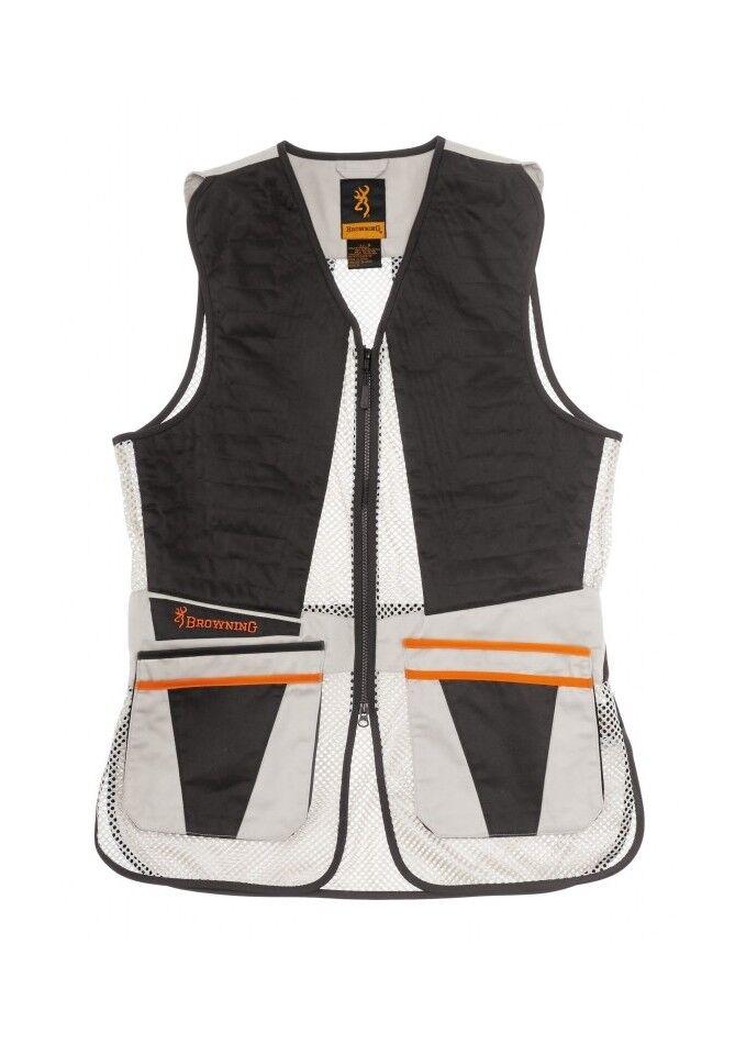 Browning Vest Ultra Shooting Vest Ladies Beige (30596834xx)