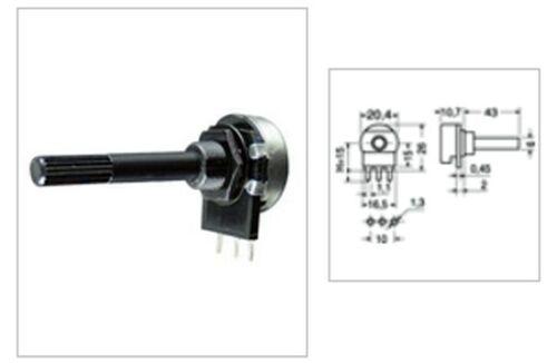 CS 0772 Potentiometer Linear Coal 0,25 W Lin unsub 22 kohm